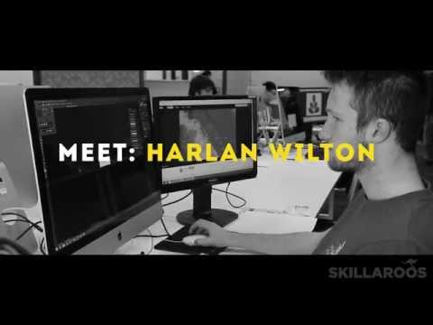 Meet: Harlan Wilton, 2015 Skillaroo – Web Design Thumbnail