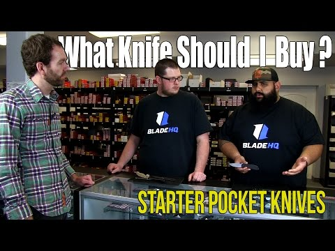 What Knife Should I Buy? | Starter Pocket Knives