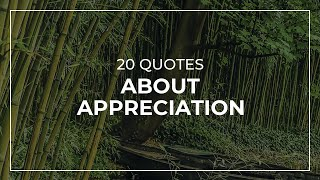 20 Quotes about Appreciation | Daily Quotes | Most Famous Quotes | Quotes for You