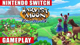 Harvest Moon: One World Nintendo Switch Gameplay