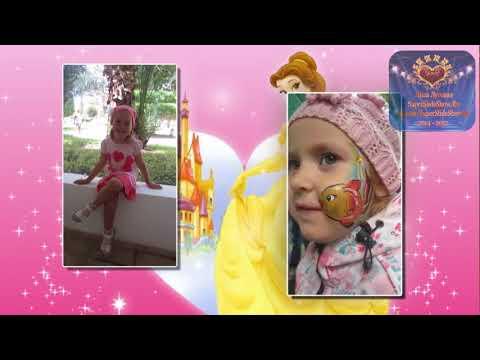 Шикарное поздравление на День Рождения  ребенку, девочке 4 года!   Слайд шоу на заказ