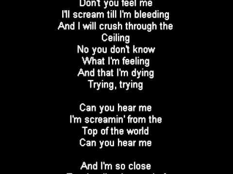 , title : 'Tokio Hotel - Screamin' Lyrics'