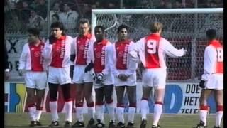 Ajax FC Utrecht 3 0 Seizoen 1993 1994
