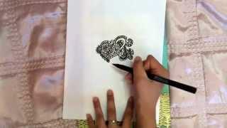 Смотреть онлайн Как рисовать картинки в стиле дудлинг для начинающих