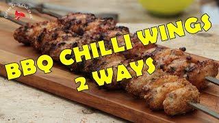 BBQ Chilli Chicken Wings (2 ways)