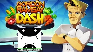 GORDON RAMSAY DASH Android GamePlay Trailer [60FPS] (By Glu)