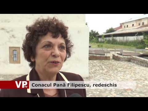 Conacul Pană Filipescu, redeschis