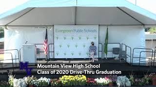 Mountain View High School Class Of 2020 Drive-Thru Graduation