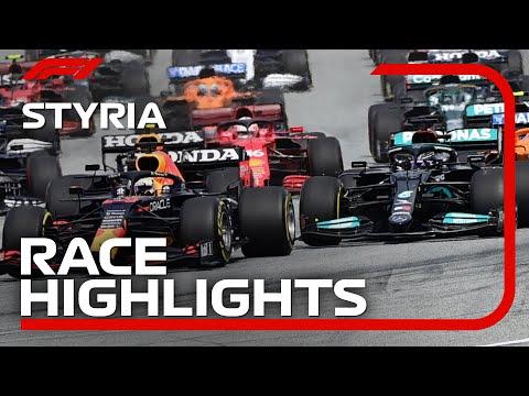 フェルスタッペンが優勝!F1第8戦オーストリアGPの決勝ハイライト動画