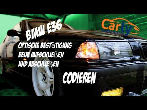 Carly For BMW | Optische Blinker Bestätigung Codieren | BMW E36