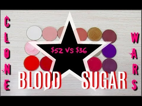 Clone Wars:Jeffree Star Blood Sugar Palette Dupe // Shop Your Stash
