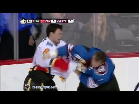 Jan Hejda vs. Cory Sarich