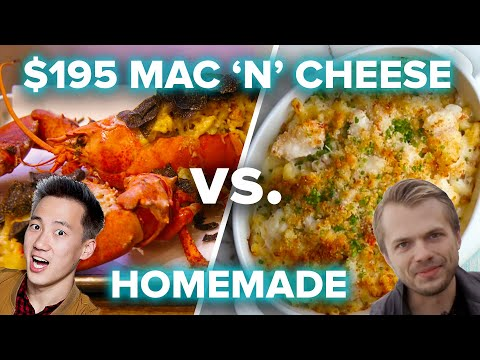 $195 Mac 'N' Cheese vs. Homemade