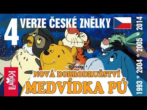 Medvídek Pú ???? 4 verze české znělky text (CZECH)