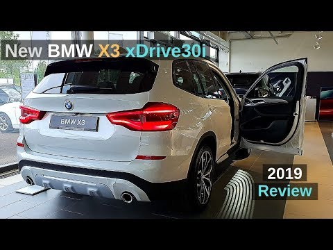 New BMW X3 xDrive30i 2019 Review Interior Exterior