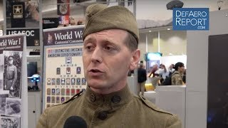 82nd Airborne Museum Curator Ruff On WWI Soldiers Gear, Uniform & Boots