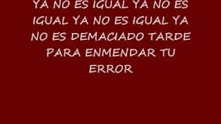 Frankie J YA NO ES IGUAL (Don't Wanna Try Spanish verison)
