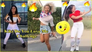 تحدي كيكي دو يو لوف مي... KiKi Do You Love Me Challenge Dance Compilation