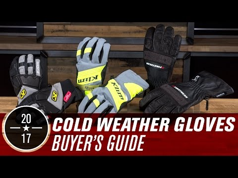 Best Adv/Dual-Sport Cold Weather Gloves | 2017