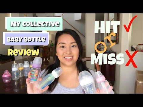 BABY BOTTLE REVIEW FOR BREASTFEEDING AND BOTTLEFEEDING  2017  TOMMEE TIPPEE + DR BROWNS + AVENT