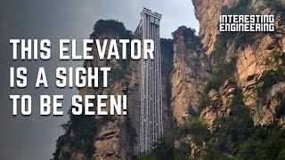 The world's tallest outdoor lift