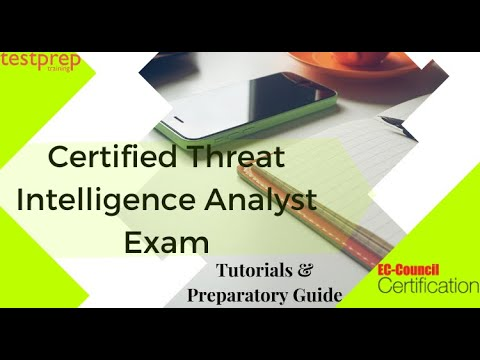 How to prepare for Certified Threat Intelligence Analyst (CTIA) Exam ...