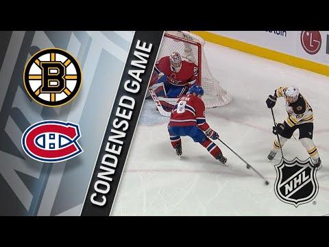 01/20/18 Condensed Game: Bruins @ Canadiens