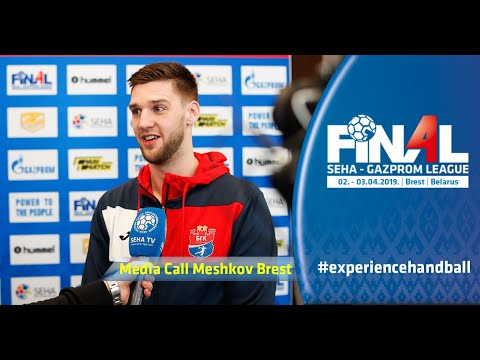 Final 4, 2019 | Media Call: Meshkov Brest