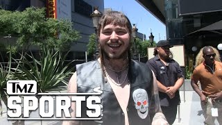 Post Malone Wants to Honor Stone Cold Steve Austin with a Feature & a Wrestling Career | TMZ Sports
