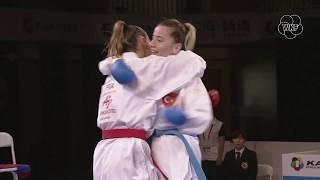 Top moments of 2019 Karate 1-Premier League: A. Recchia vs S. Ozcelik