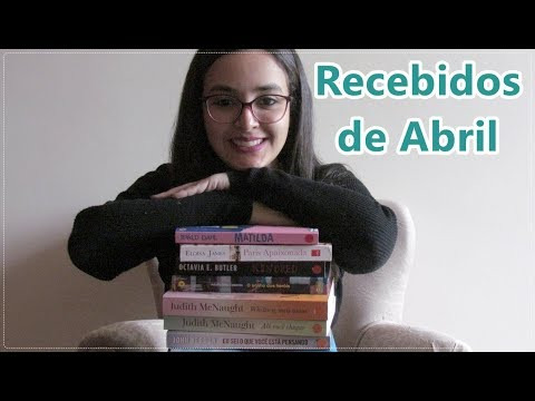 Recebidos de Abril - Book Haul l 2019