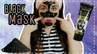 RESEÑA - Mascarilla Peel-off Charcoal White Black Mask  #QuiereteBonito ❤️
