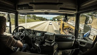 CV Driving Scania S520 - Back to work (Stockholm, Sweden)