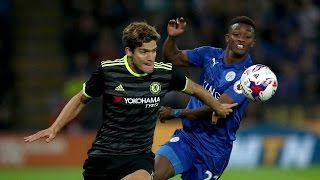 Marcos Alonso Goal Leicester City vs Chelsea 14/1/2017 HD