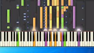 Christian Wunderlich - Thats my Way to say goodbye (mh) [Piano Tutorial Synthesia]