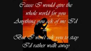 If Your Heart's Not In It by Westlife (w/ lyrics)