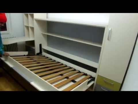 Dormitoare pentru copii cu pat rabatabil C 025