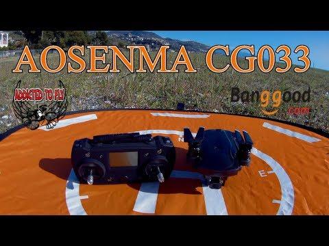 TEST DI VOLO AOSENMA CG033