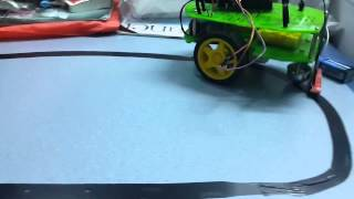 arduino - Line follower robot using PID control