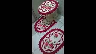 Красивые коврики для туалетной комнаты рукоделие