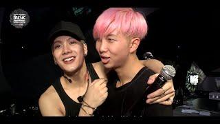 MAMA 2015 Backstage: GOT7 + BTS' Blossoming Bromance
