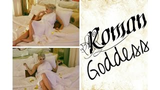 DIY Roman Goddess Halloween Tutorial