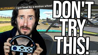 I Tried Using A £17 Motion Wheel In An Official Race. Here's What Happened.