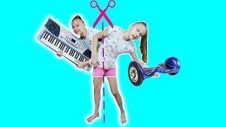 ТАНЯ РАЗДВОИЛАСЬ  ШПИОНЫ  играющим вместе машинки CHILDREN SPIES playing together cars