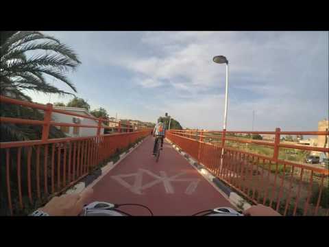 Huerta Norte (Valencia → Alboraya) en bici