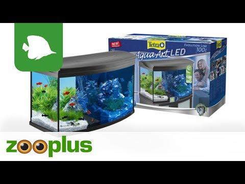 Tetra AquaArt Evolution Line LED Aquarium-Komplett-Set 100L | zooplus