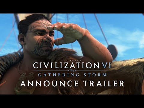 Civilization VI: Gathering Storm Announce Trailer (NEW EXPANSION) thumbnail