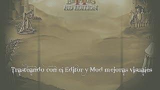 Age of Empires II HD Edition - Mod mejora unidades/terreno y guia con el Editor