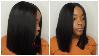 Bob Season  Cut & Style Quick Weave  Lumiere Hair  No Leaveout