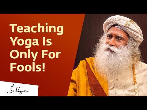 , title : 'How To Be A Good Yoga Teacher   Sadhguru   Isha Hatha Yoga